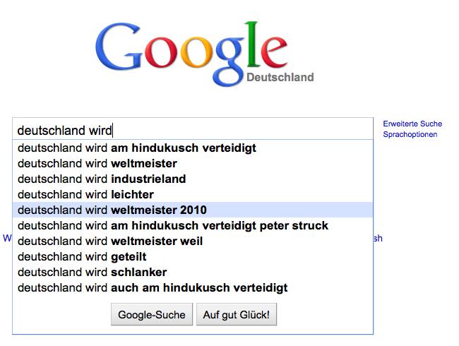 Deutschland wird Weltmeister 2010