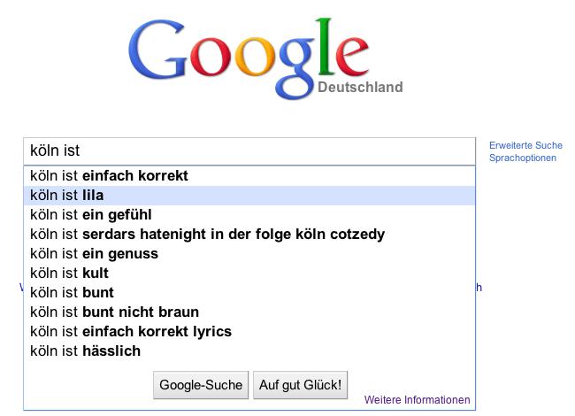 Köln ist lila