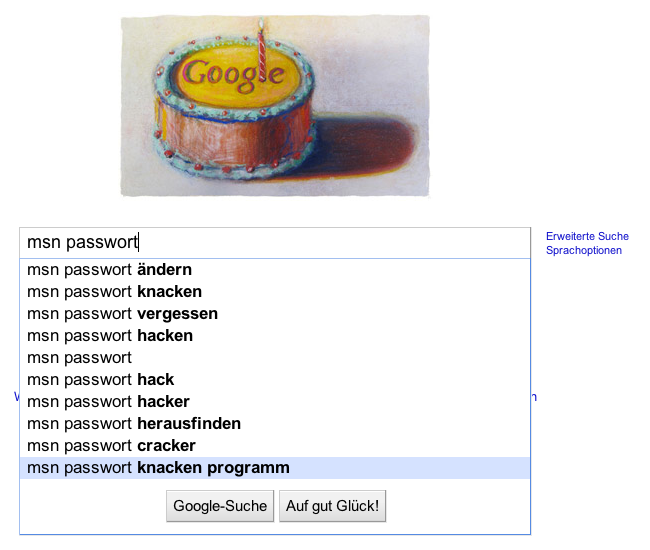 msn passwort knacken programm
